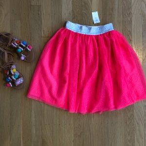 Gap kids tulle skirt (NWT)